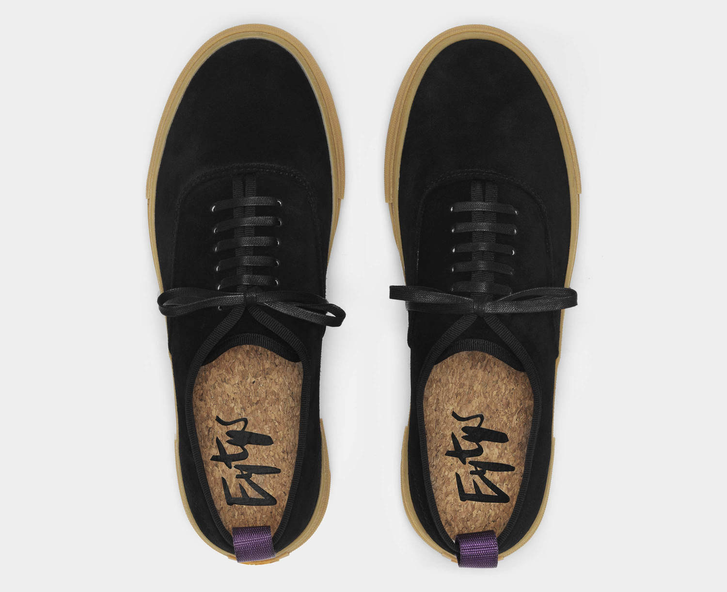 Eytys Mother Suede Black Gum