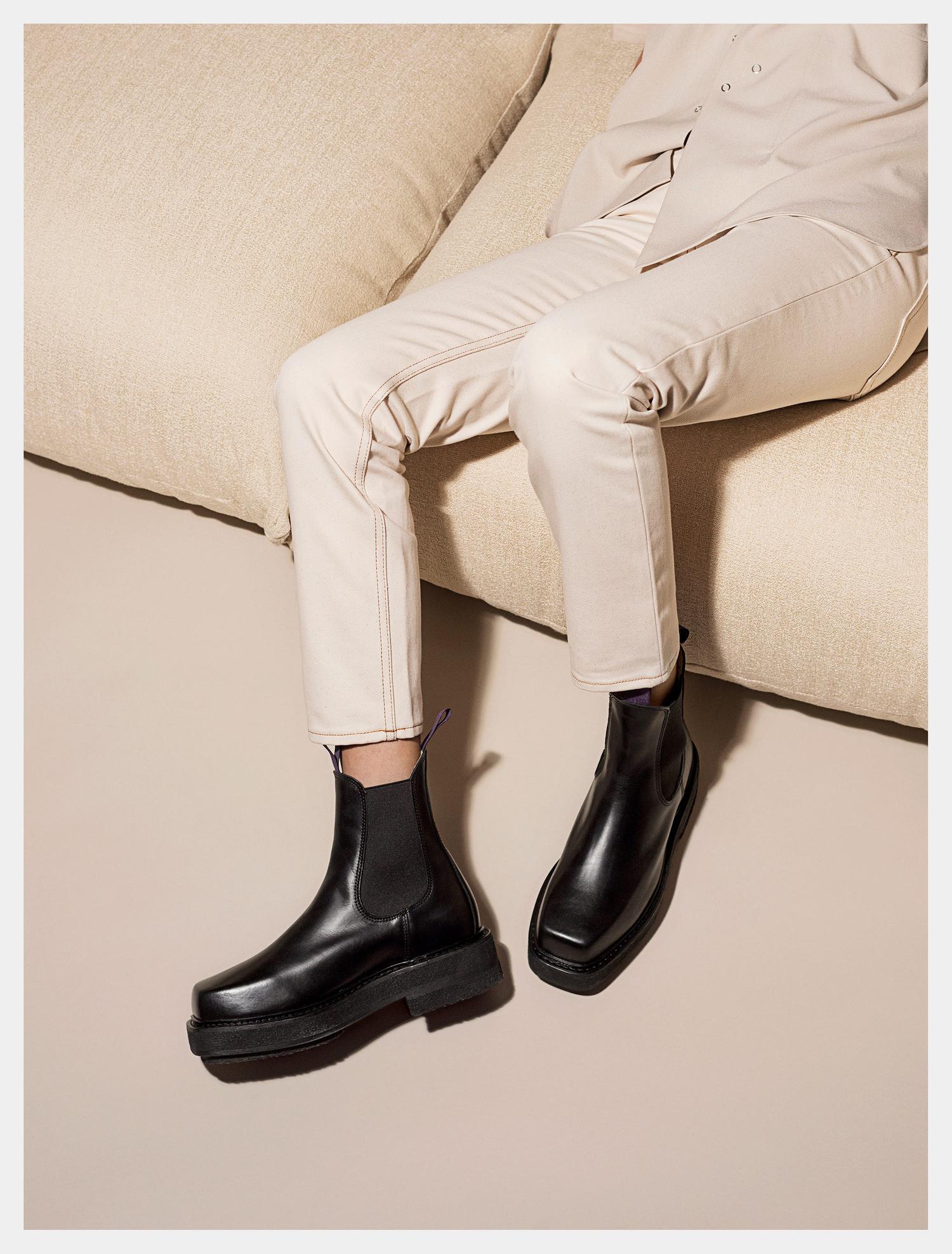 yet not vulgar excellent quality good quality Eytys Ortega Leather Black   Eytys