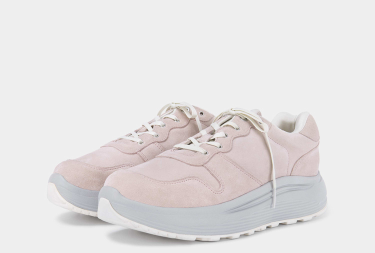 Jet Combo Suede Powder Pink