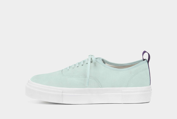 Mother Suede Aqua