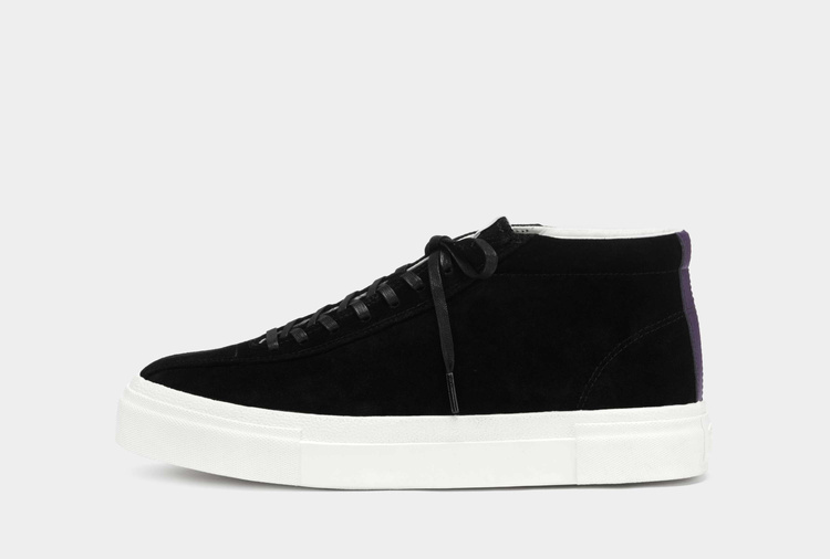 Mother Mid Suede Black