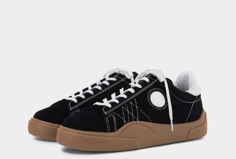 Eytys Wave Suede Black Gum