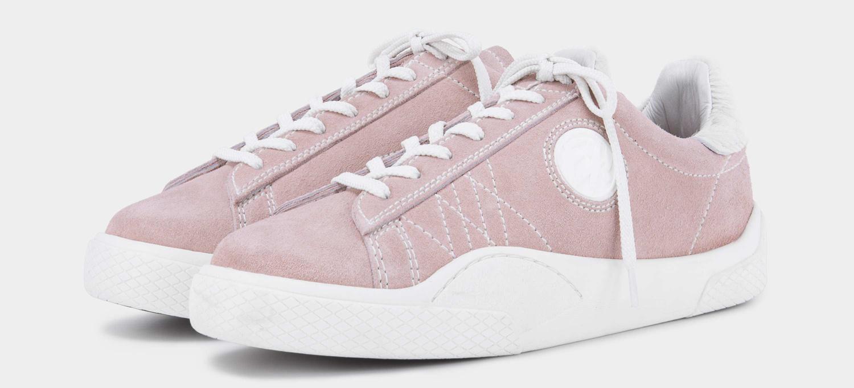Eytys Wave Suede Powder Pink