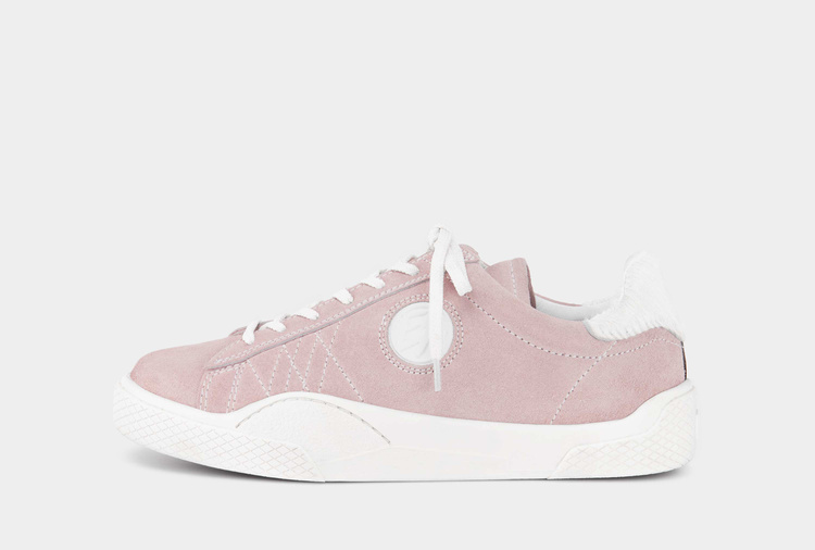 Eytys Wave Suede Powder Pink
