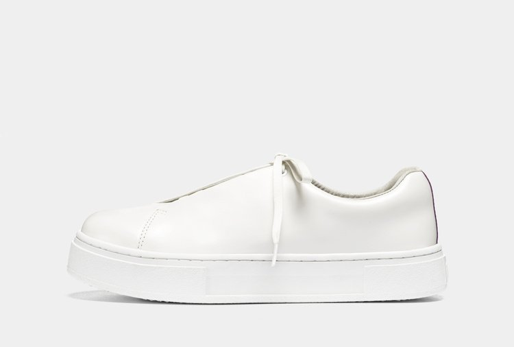 Eytys Doja Leather White