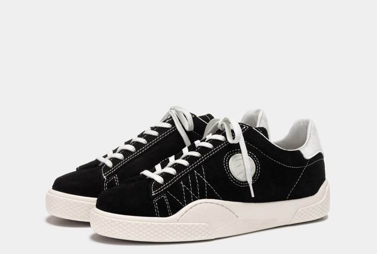 Eytys Wave Suede Black