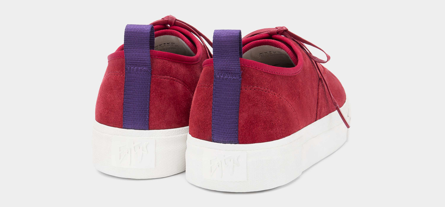Eytys Mother Suede Rosso