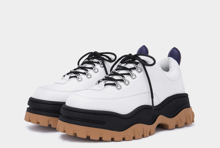 Eytys Angel Leather White Black Gum