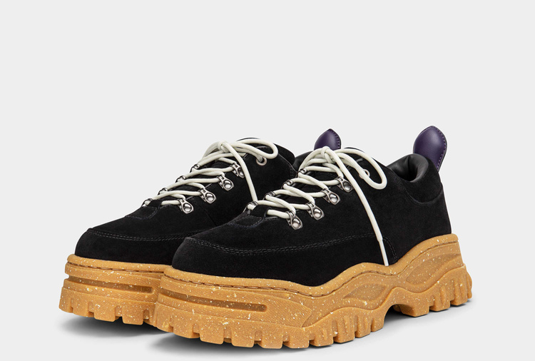 Eytys Angel Suede Black Gum