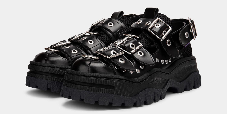 Eytys Athena Leather Black