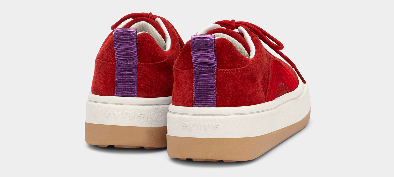 Eytys Sonic Suede Rosso