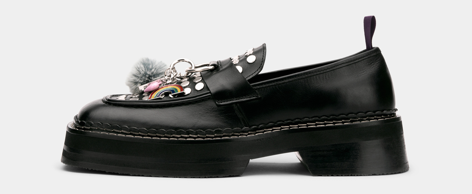 Eytys Phoenix Loafer Leather Black